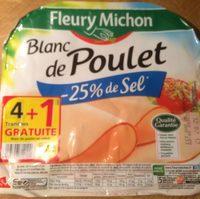 Blanc de poulet  -25% de sel - Produit - fr