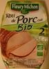 Rôti de porc cuit Bio - Product
