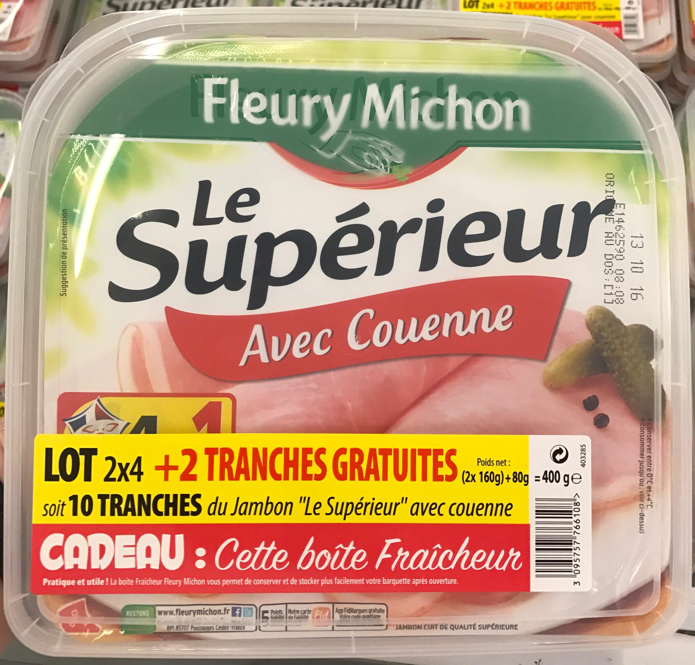 Le Supérieur, avec couenne - Prodotto - fr