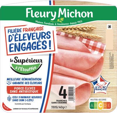 FILIERE FRANCAISE D'ELEVEURS ENGAGES - Le Supérieur à l'étouffée - 4 tranches - Prodotto - fr