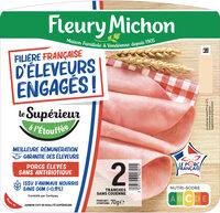FILIERE FRANCAISE D'ELEVEURS ENGAGES - Le Supérieur à l'étouffée - 2 tranches - Produit - fr
