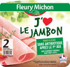 J'aime le jambon - 2 tranches - Product