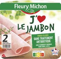 J'aime le jambon - 2 tranches - Produkt - fr