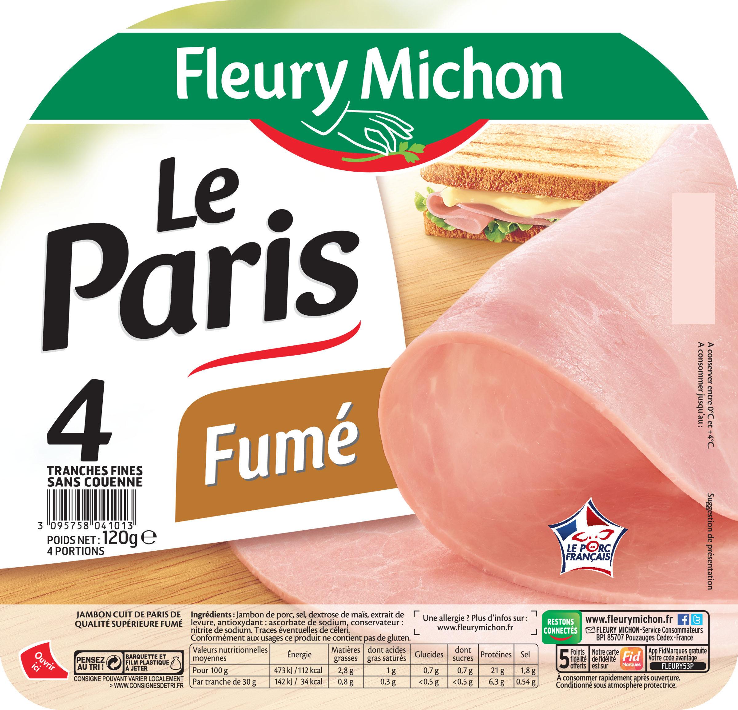 Le Paris fumé - 4 tr. - Product