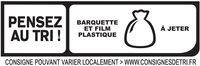 Le Torchon - Cuit à l'Etouffée  - 25% de sel* - Instruction de recyclage et/ou informations d'emballage - fr