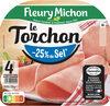 Le torchon - tranches fines - 25% de sel* - 4tr - Produit