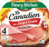 Jambon Le Canadien au sirop d'érable SC - 4tr. - Produit