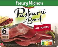 Pastrami de Boeuf au poivre - 6tr. - Produit