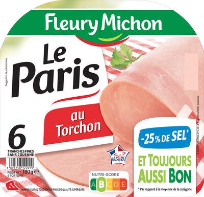 Le  Paris au torchon - 25% de Sel* -6 tr. - Prodotto - fr