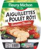 Aiguillettes de poulet rôti tomate & basilic - 150g - Produit