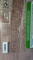 Jambon sans couenne sel reduit - Voedingswaarden - fr