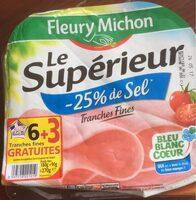 Le Supérieur -25% de Sel - Product - fr