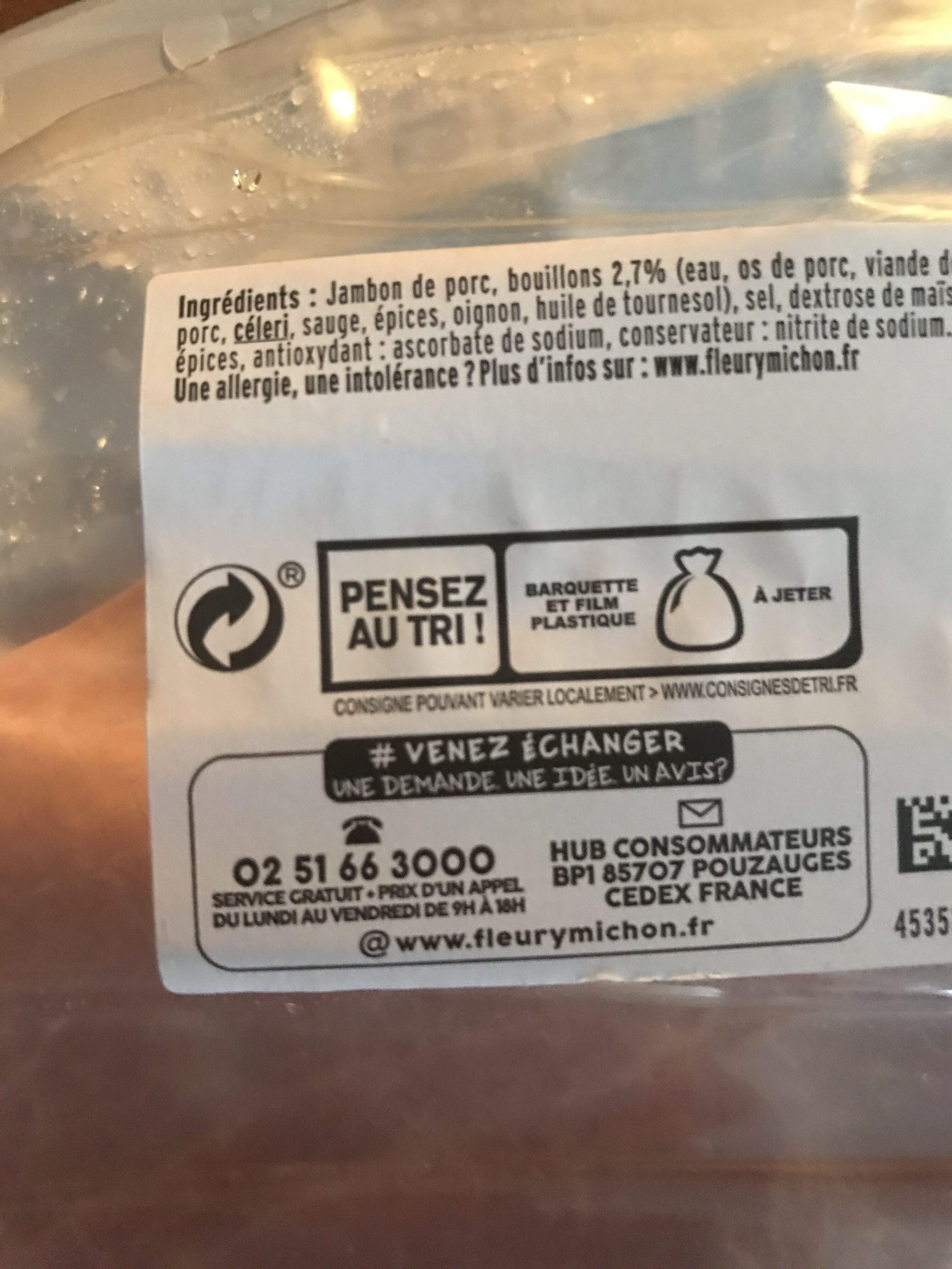 Le Supérieur -25% de Sel - Recyclinginstructies en / of verpakkingsinformatie - fr