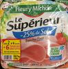 Le Supérieur -25% de Sel (lot 2x6+8 tranches) - Produit