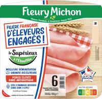 FILIERE FRANCAISE D'ELEVEURS ENGAGES - Le Supérieur à l'étouffée - 6 tranches - Produit - fr