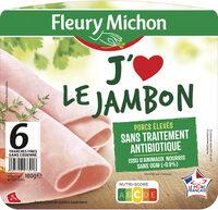 J'aime le jambon - 6 tranches - Produkt - fr