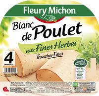 Blanc de poulet aux fines herbes - 4 tranches fines - Produit - fr