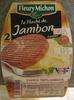 Le Haché de Jambon à poêler (2 Pièces) - Prodotto