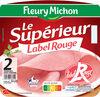 Le supérieur Label Rouge - 2 tranches sous couenne - Produit