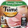 Jambon Le Fumé au bois de chêne sans couenne - 4 tr. - Product