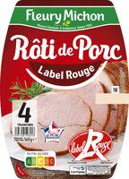 Rôti de porc cuit Label Rouge - 4 tranches - Prodotto - fr