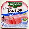 Le Tranché Fin Torchon (- 25 % de Sel) 4 Tranches Fines Sans couenne - Product