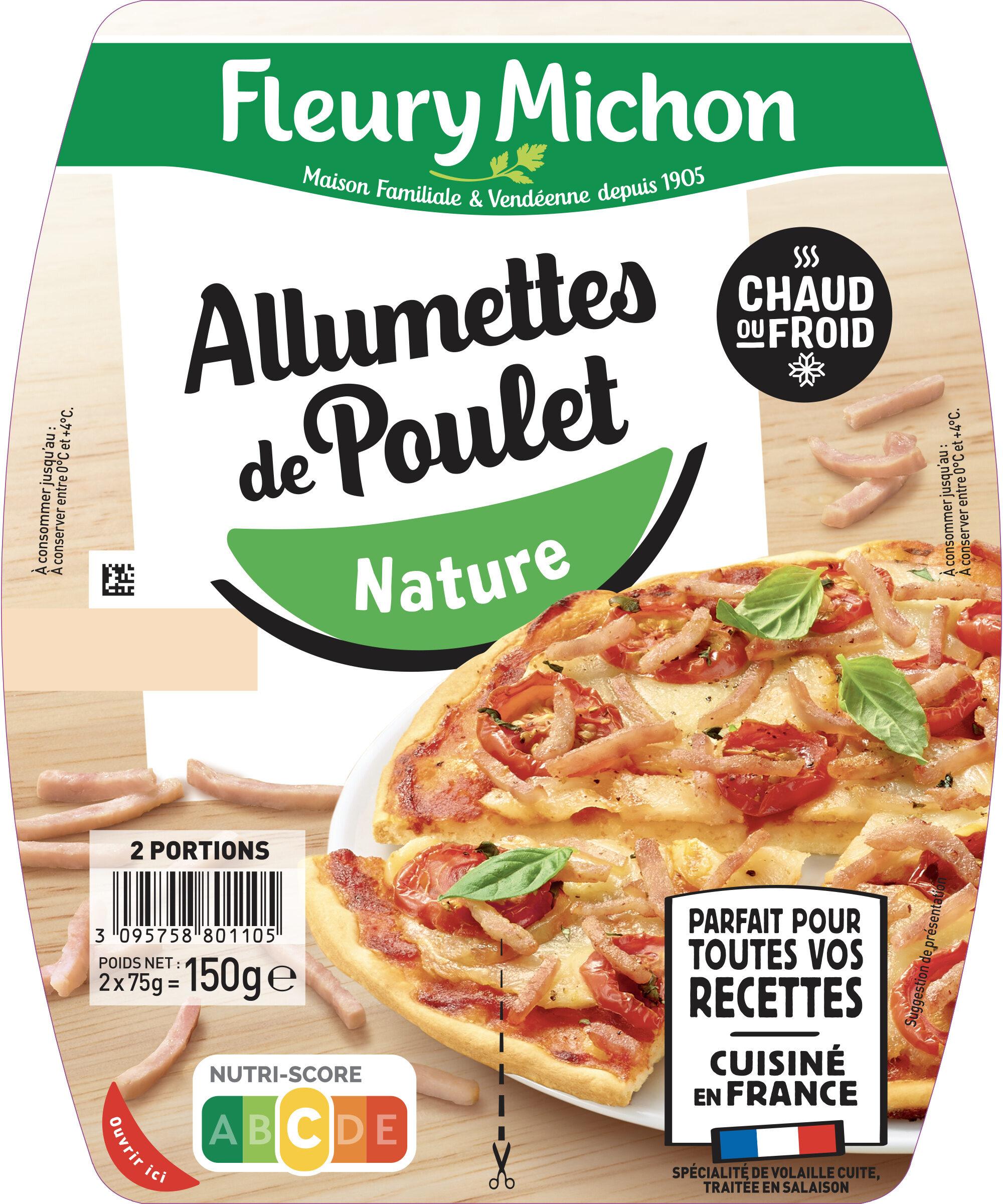 Allumettes de poulet nature - Prodotto - fr