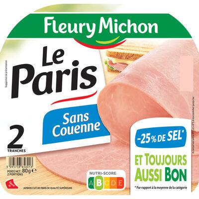 Le Paris sans couenne - 25% de Sel*- 2 tr - 12
