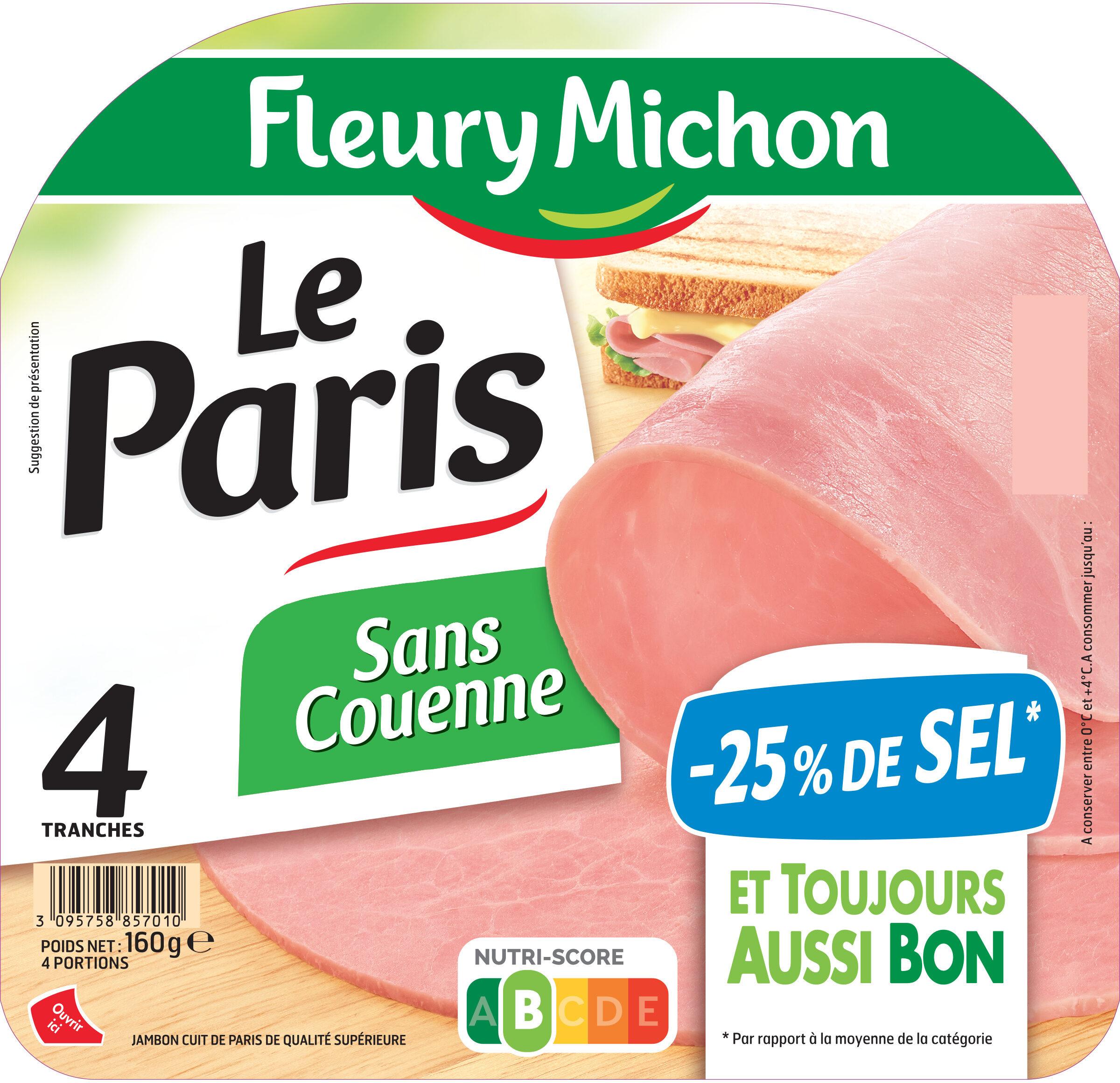 Le Paris sans couenne - 25% de Sel*- 4tr - Product