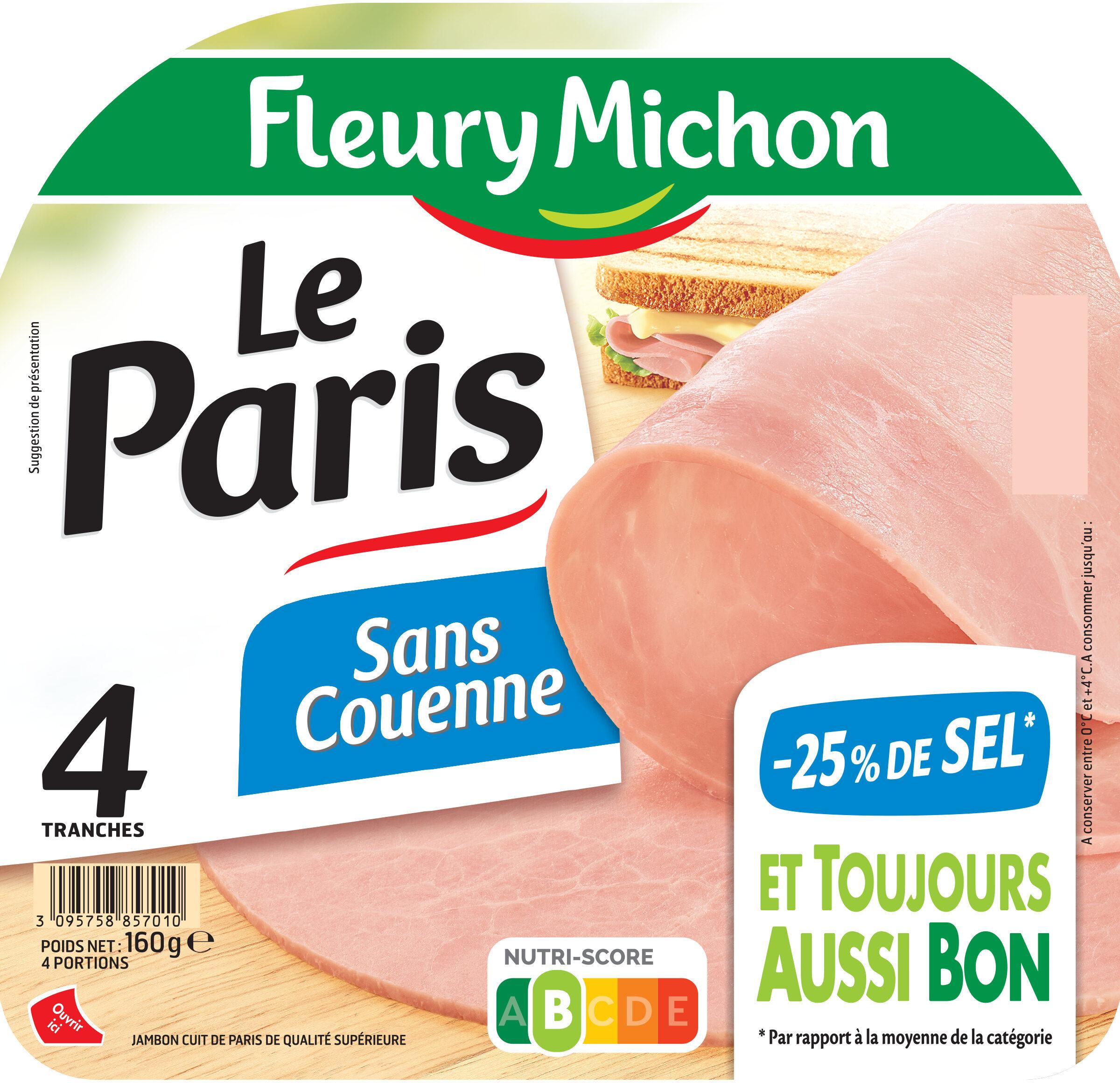Le Paris sans couenne - 25% de Sel*- 4tr - Product - fr