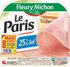 Le Paris sans couenne  - 25% de Sel* - 8 tr. - Product