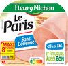 Le Paris sans couenne  - 25% de Sel* - 8 tr. - Produit
