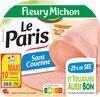 Le Paris sans couenne - 25% de Sel* -  10 tr. - Produit