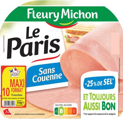 Le Paris sans couenne - 25% de Sel* -  10 tr. - Prodotto - fr