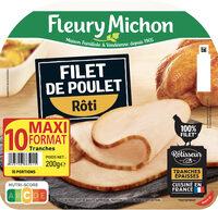 Filet de poulet rôti - 10 tr. - Prodotto - fr