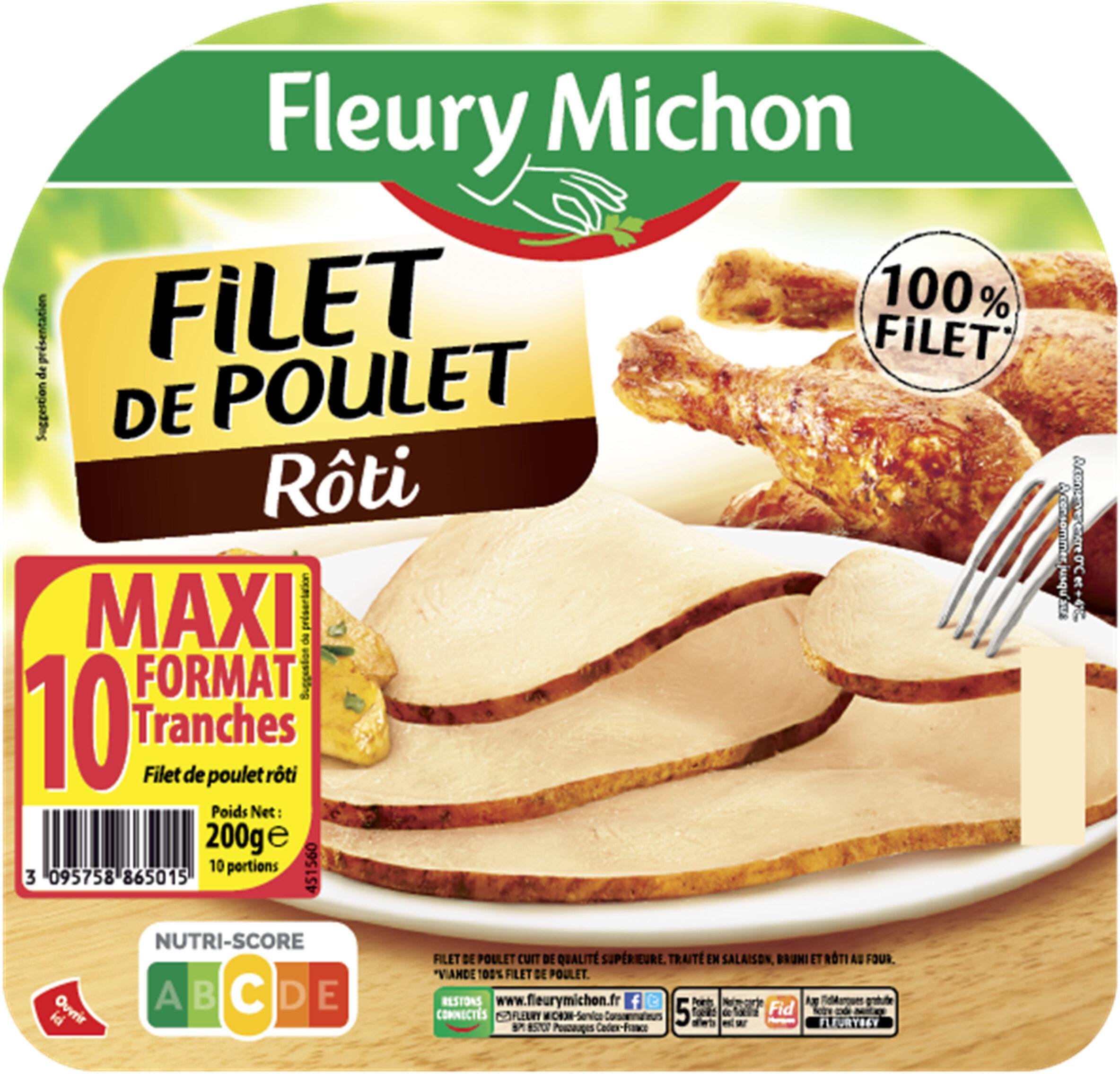 Filet de poulet rôti - 10 tr. - Product - fr