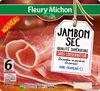 Jambon Sec Qualité Supérieure Sans Conservateur - 6 Tranches - Product
