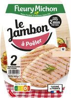 Jambon à poêler - 2 tranches - Produit - fr