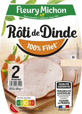 Rôti de Dinde - 100% filet* - Product - fr