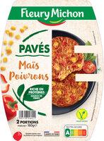 Pavés  Maïs et Poivrons - Produit - fr