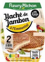 Le haché jambon emmental fondu - 2 pièces - Product - fr