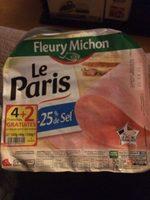 Jambon Cuit De Paris De Qualité Supérieure - Product - fr