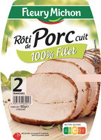 Rôti de Porc cuit - 100% filet* - 2tr - Product