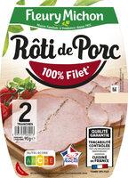 Rôti de Porc - 100 % filet* - Produit - fr