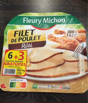 Filet de poulet rôti - Produit - fr