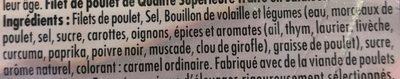 Filet de poulet rôti - Ingrédients - fr