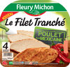 FILET TRANCHE POULET MEXICAINE - 4 tr. - Product