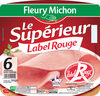 Le supérieur Label Rouge - 6 tranches sous couenne - Produto