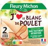 Blanc de Poulet J'AIME - 2 tr. - Produit