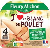Blanc de Poulet J'AIME - 4 tr. - Produit - fr